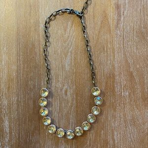J. Crew Crystal Statement Necklace